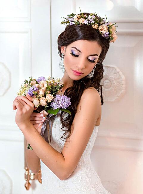 Свадебная фотосессия для невесты